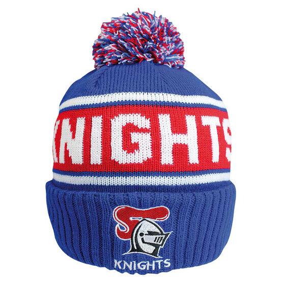 Newcastle Knights Striker Beanie, , rebel_hi-res