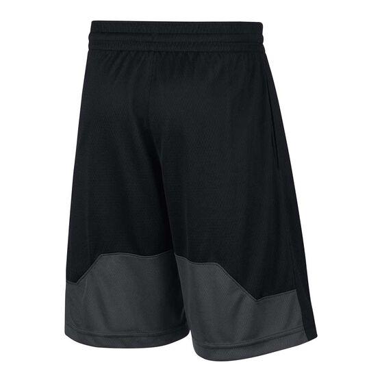 Nike Boys Dry HBR Shorts, Black / Grey, rebel_hi-res