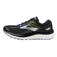 Brooks Glycerin 15 Mens Running Shoes Black / Blue US 8, Black / Blue, rebel_hi-res