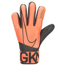 Nike Match Goalkeeping Gloves Black / Orange 7, Black / Orange, rebel_hi-res