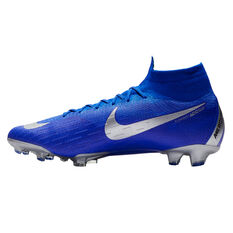 Nike Mercurial Superfly VI Elite Mens Football Boots Blue / Black US 7, Blue / Black, rebel_hi-res