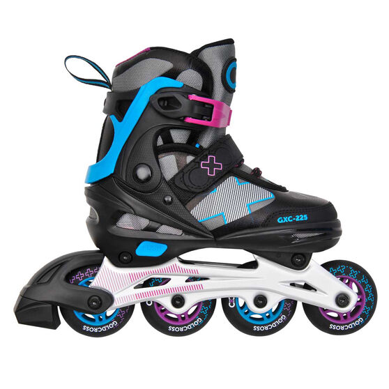 Goldcross GXC225 Inline Skates Black 3-6, , rebel_hi-res