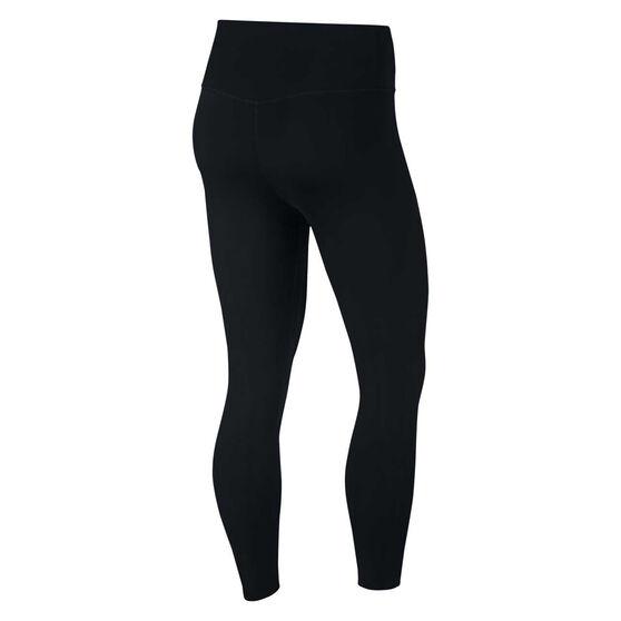 Nike Womens One Luxe Crop Tights, Black, rebel_hi-res