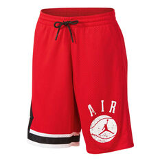 Nike Boys JDB Auth Story 1 Shorts Red / White M, Red / White, rebel_hi-res