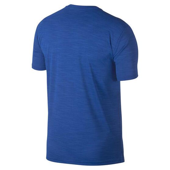 Nike Mens Superset Graphic Training Tee, Blue / Navy, rebel_hi-res