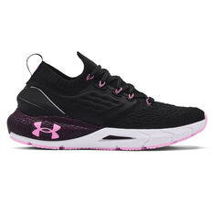 Under Armour HOVR Phantom 2 Womens Running Shoes Black/Purple US 6, Black/Purple, rebel_hi-res