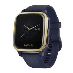 Garmin Venu Sq Music GPS Smartwatch - Navy Light Gold, , rebel_hi-res