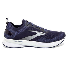 Brooks Levitate 4 Mens Running Shoes, Navy/Grey, rebel_hi-res