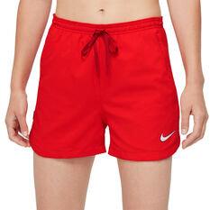 Nike F.C. Dri-FIT Womens Woven Football Shorts Red XS, Red, rebel_hi-res