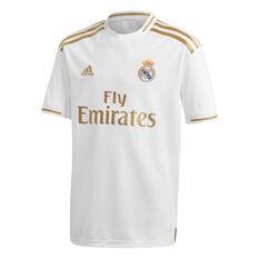 Real Madrid CF 2019/20 Kids Home Jersey White / Gold 10, White / Gold, rebel_hi-res