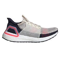 adidas Ultraboost 19 Womens Running Shoes Brown / White US 7, Brown / White, rebel_hi-res