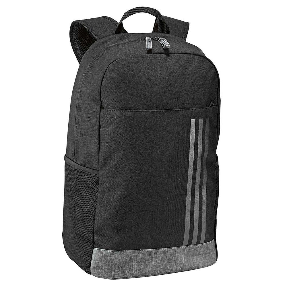 adidas Classic 3 Stripes Backpack Black   White, , rebel hi-res 828add603a