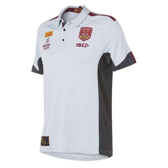 QLD Maroons State of Origin 2018 Mens Polo Shirt M, , rebel_hi-res