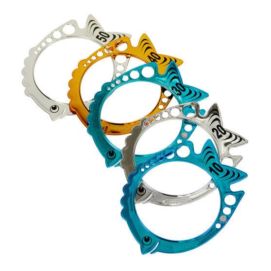 Aqua Splash Shimmer Fish Dive Rings, , rebel_hi-res