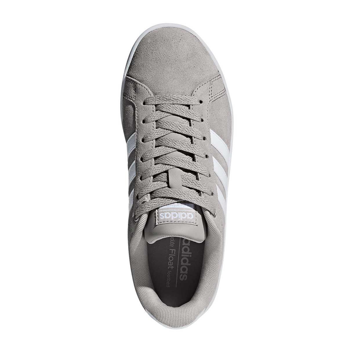 c3b2ae20523 ... shades of adidas cloudfoam advantage womens casual shoes grey white us  6 grey white