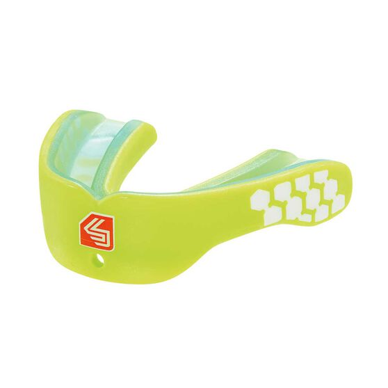Shock Doctor Gel Max Power Mouthguard Green Adult, , rebel_hi-res
