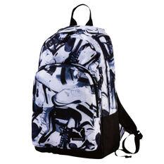 Puma Academy Backpack Black / White, , rebel_hi-res