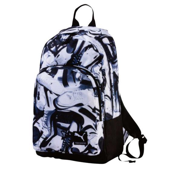 e2f7f4686f9a44 Puma Academy Backpack Black / White, , rebel_hi-res