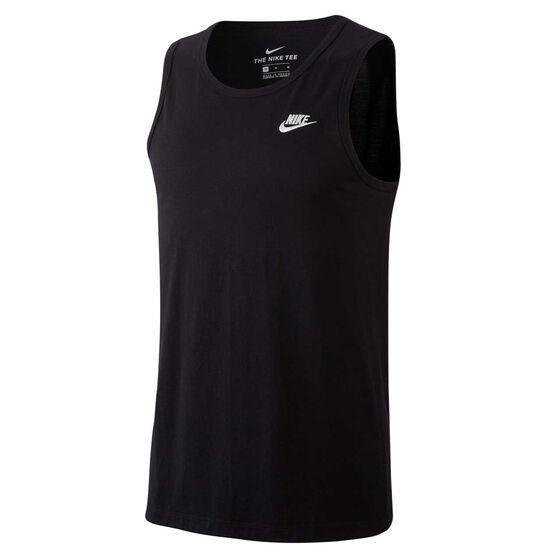 Nike Mens Sportswear Tank, Black, rebel_hi-res