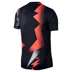 Paris Saint Germain x Jordan 2019/20 Mens Dry Tee Black / Red S, Black / Red, rebel_hi-res