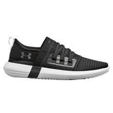 Under Armour Adapt Womens Casual Shoes Black / White US 6, Black / White, rebel_hi-res