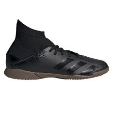 adidas Predator 20.3 Kids Indoor Soccer Shoes Black US 11, Black, rebel_hi-res