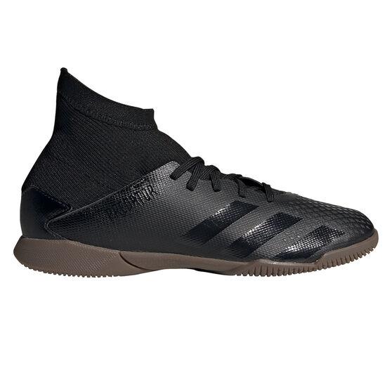 adidas Predator 20.3 Kids Indoor Soccer Shoes, Black, rebel_hi-res