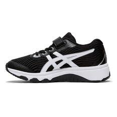 Asis GT 1000 8 Kids Running Shoes Black / White US 11, Black / White, rebel_hi-res