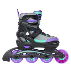 Goldcross GXC185 Kids Inline Skates Purple US 12-2, Purple, rebel_hi-res