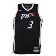 Nike Phoenix Mercury Diana Taurasi 2021 Kids Basketball Jersey Black S, Black, rebel_hi-res