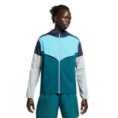 Nike Mens Repel UV Windrunner Navy S, , rebel_hi-res