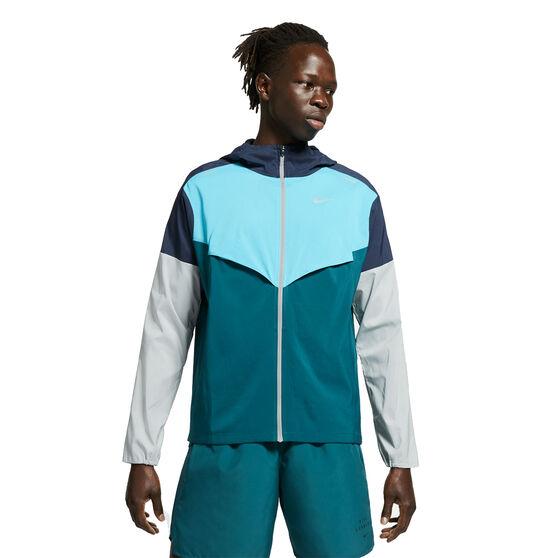 Nike Mens Repel UV Windrunner Navy M, , rebel_hi-res