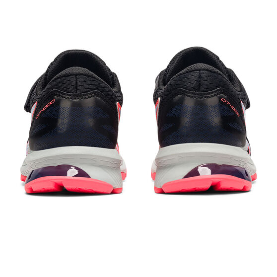 Asics GT 1000 10 Kids Running Shoes, Black/Blue, rebel_hi-res