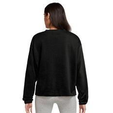 Nike Womens Sportswear Icon Clash Crew Sweater Plus Black 1X, Black, rebel_hi-res