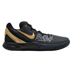 0ac5ef744469 Nike Kyrie Flytrap II Mens Basketball Shoes Black   Gold US 7