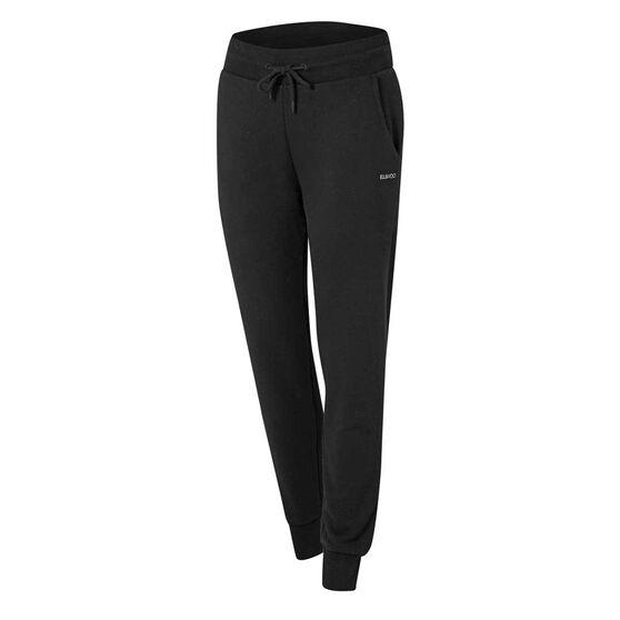 Ell & Voo Womens Harper Fleece Pants, Black, rebel_hi-res