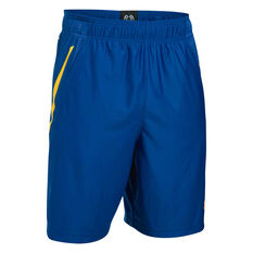 Under Armour Mens Team 9in Shorts Blue S Adults, Blue, rebel_hi-res