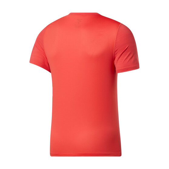 Reebok Mens Workout Ready ACTIVCHILL Tee, Red, rebel_hi-res