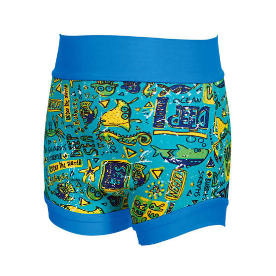 Zoggs Deep Sea Swim Swimsure Nappy, Blue, rebel_hi-res