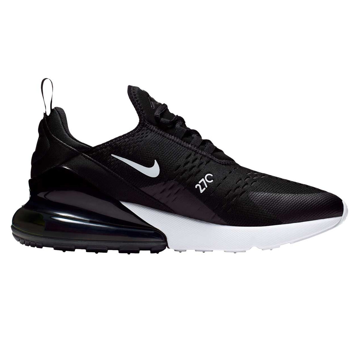 Nike Air Max 270 Mens Casual Shoes Black/White US 9 | Rebel ...