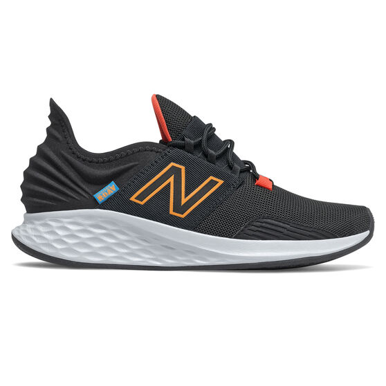 New Balance Fresh Foam Roav Mens Running Shoes, Black, rebel_hi-res