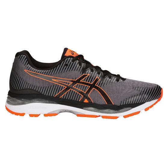 Asics GEL Ziruss 2 Mens Running Shoes, Grey / Black, rebel_hi-res