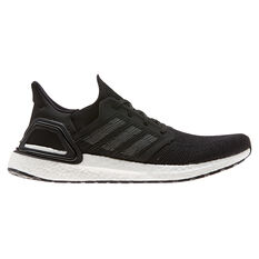 adidas Ultraboost 20 Mens Running Shoes Black / Navy US 7, Black / Navy, rebel_hi-res