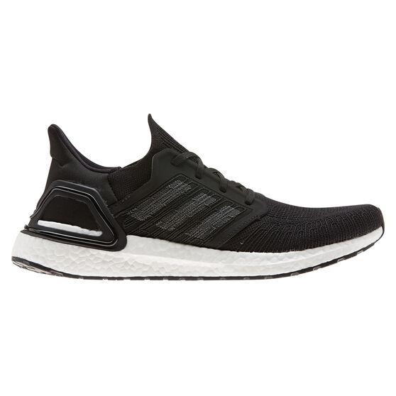 adidas Ultraboost 20 Mens Running Shoes, Black / Navy, rebel_hi-res