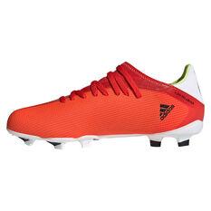 adidas X Speedflow .3 Kids Football Boots Red US 11, Red, rebel_hi-res