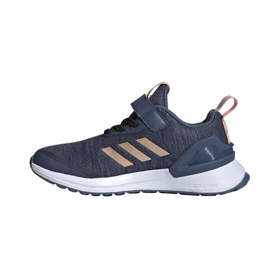 adidas RapidaRun X Kids Running Shoes Blue / Pink US 12, Blue / Pink, rebel_hi-res