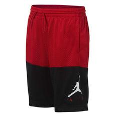 61eed611c4e Nike Boys Jumpman Air GFX Mesh Basketball Shorts Red / Black S, Red / Black
