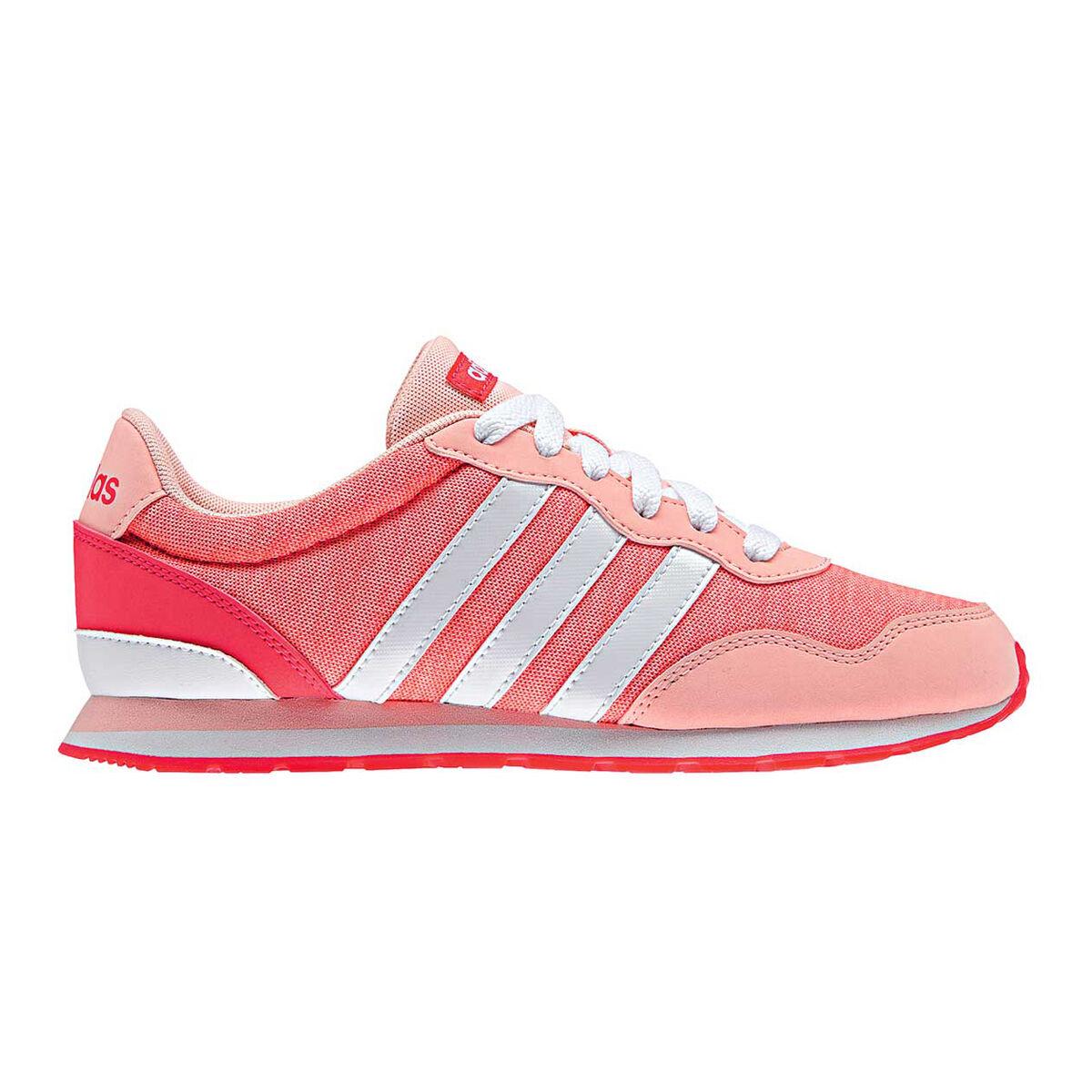 newest 2d1b2 f03b3 V Adidas Sport White Shoes Jog Girls Coral Rebel Us 6 Running aRPdRqw