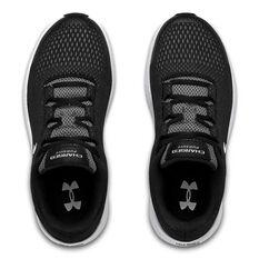 Under Armour Persuit 2 Kids Running Shoes, Black/White, rebel_hi-res