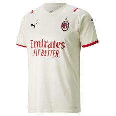AC Milan 2021/22 Mens Away Jersey, Cream, rebel_hi-res
